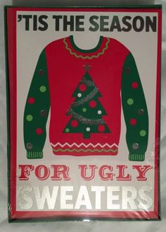 Ugly-Sweater-Christmas-Cards-Holiday-Boxed-Set-18-Cards-Envelopes-Funny-Season