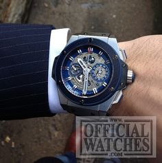 Hublot King Power Special One http://701.NQ.0137.GR .SPO14! Titanium, and extremely rare!