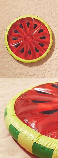 Watermelon Slice Pool Float #watermelon #poolfloat #pool