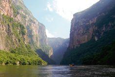 Canyon del Sumidero (Chiapas, Mexico)