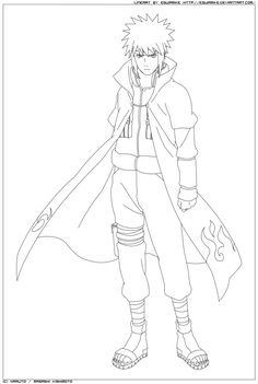Naruto Minato Drawing Related Keywords Naruto Minato Naruto Sketch Drawing, Naruto Drawings, Drawing Sketches, Naruto Minato, Anime Naruto, Colouring, Coloring Pages, Naruto Painting, Uzumaki Family