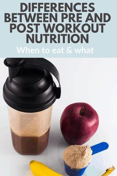 Pre Workout Protein Shake, Pre Workout Nutrition, Good Pre Workout, Fitness Nutrition, Health And Nutrition, Sports Nutrition, Fitness Fun, Fitness Goals, Post Workout Drink