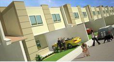 Arquitetura e Visualização Digital: Maquete Condomínio Multifamiliar