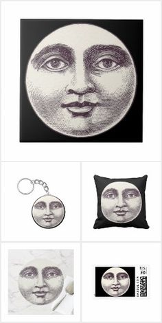 Victorian Man in the Moon