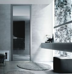 Modern Interior Glass Doors – Spin by Rimadesio | DigsDigs