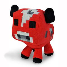 Mushroom Cow Plushie.  <3  I want one to add to my collection.