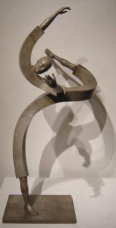 aquí y ahora: Jean Louis Corby - escultura, bronce