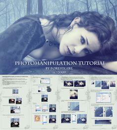Photomanipulation Tutorial by ForestGirl.deviantart.com