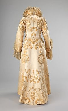Evening coat Design House: House of Worth (French, 1858–1956) Designer: Jean-Philippe Worth (French, 1856–1926) Date: ca. 1902 Culture: French Medium: silk