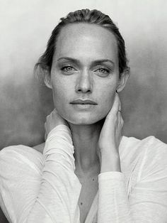 Amber Valletta (Photography by Peter Lindbergh) | 2009