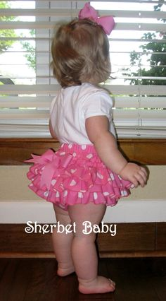 Original All Around Ruffle Diaper Cover Sassy Pants by SherbetBaby, $45.00