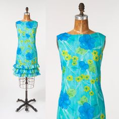 SO PRETTY for beach/pool party cruise or vacation, can even dress this up! SALE $38 Ladies Sz Med. #missfarfalla Etsy