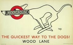 The quickest way to the dogs,  by Alfred Leete, 1927