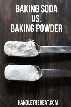Become a BETTER BAKER by learning the surprising differnces between baking soda vs. baking powder!