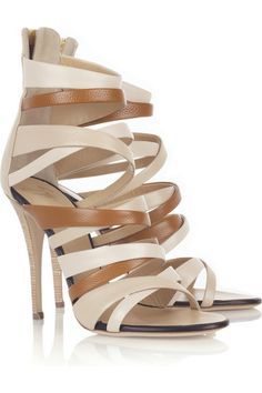 Giuseppe Zanotti Multi-strap leather sandals