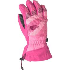 The North Face - Revelstoke Etip Glove - Kids  - Cha Cha Pink Cabaret 0a49b0d321fe