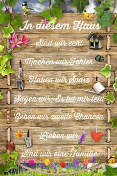 Motivational-In-diesem-Haus-Motivation-Familie-Family-Poster-Druck