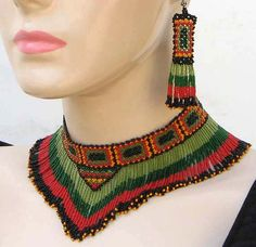 southwestern indian bead artists   Necklaces & Pendants » Native American Beaded Necklace
