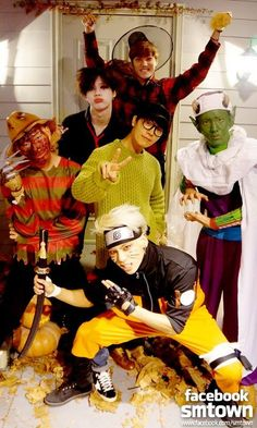 SM Entertainment idols have a Halloween party! | allkpop.com