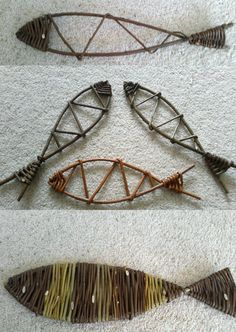 Willow fish by Ways with Willow CIC www.wayswithwillow.co.uk