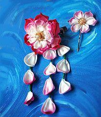 Pink and White Lotus
