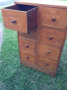 Antique-Tall-Boy-Chest-Of-Drawers