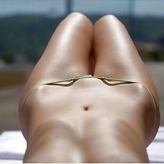 Bridge selfie bikini
