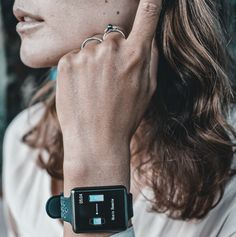 This navy and turquoise chic special edition smartwatch comes with an effective heart rate monitor and automatic sleep monitor to keep your health in check mindlessly every day. Click here to find out more! Heart Rate, Smartwatch, Monitor, How To Find Out, Sleep, Turquoise, Navy, Chic, Health