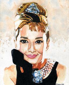 Audrey Hepburn - by Karina Zyga (Vistingri)