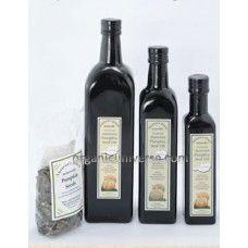 Austrian Pumpkin Seed Oil - 8.5 fl oz & Sample Pumpkin Seeds (Free Shipping)