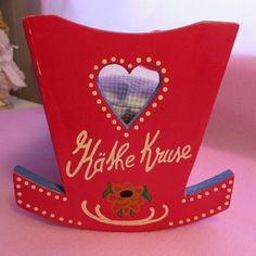Rare! UFDC Kathe Kruse Wood Cradle - Bella May Dolls #dollshopsunited