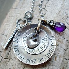 Personalized gift  personalized jewelry  by CremeDeLaGems on Etsy, $78.00