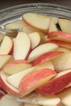 Brown Apple, Apple Cut, Fresh Apples, Fresh Fruit, Sliced Apples, Keep Apples From Browning, Apfel Snacks, Preserving Apples, A Food