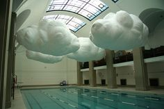 Inflatable Clouds. Yes.