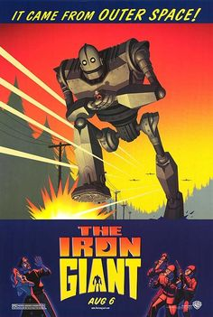 IRON GIANT ORIGINAL MOVIE POSTER 27X40 DOUBLE SIDED                      ALL OF OUR POSTERS ARE BRAND NEW          ALL OF OUR POSTERS ARE BRAND NEW