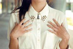 { nails, blouse, hair } WWW.HEYLJ.COM