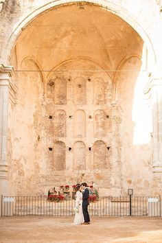 Mission San Juan Capistrano Anniversary Shoot from Theresa Bridget Photography | Southern California Bride