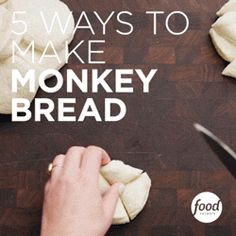 No need to wait for the weekend to get baking! Try one of these 5 easy ways to make Monkey Bread.