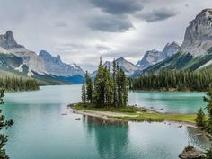 Maligne Lake - Alberta, Canada - mikeuk/Getty Images