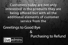Customer's Perception about customer service...