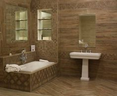 modern bathroom design flooring