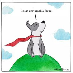 I Am Fearless… – Red and Howling Silly Dogs, Funny Dogs, Dog Quotes, Animal Quotes, I Love Dogs, Puppy Love, Pet Dogs, Dogs And Puppies, Doggies