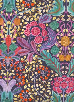 100% cotton Liberty Tana Lawn.    Approximately 137cm in width.     The Strawberry Thief, Liberty Art Fabrics, Purple Pattern, William Morris, Textile Design, Fabric Patterns, Egyptian, Art Gallery, Arts And Crafts