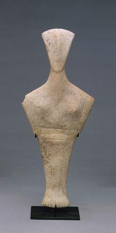 Idole cycladique - Type de Chalandriani  - Cycladique ancien II - 2700-2300
