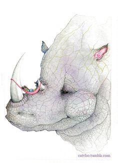 little rhino girl