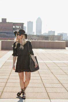 Bobo Style Dress + Floppy Hat + Label By Five Twelve Giveaway #katalinagirl #style #blogger #summer