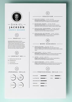 MAC Resume Template – 44+ Free Samples, Examples, Format Download! | Free & Premium Templates
