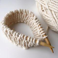 Knit Fisherman's Rib Hat   All About Ami