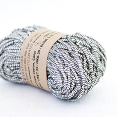 habu - natural cover wrapped cotton - beautiful yarns and kits on this site