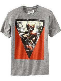 Dark Wolverine Tees @ Old Navy - So this is just kinda awesome :)